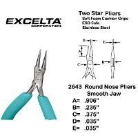 4 5  Box Joint Round Nose Plier 2643