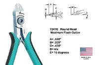5  Maximum Flush Round Head Cutter 7241E