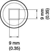 BGA Nozzle  9 x 9 x 12 4  H  mm A1470