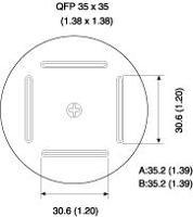 BQFP Nozzle  35 x 35 mm A1203B