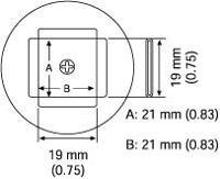 PLCC Nozzle  21 x 21 mm A1136B