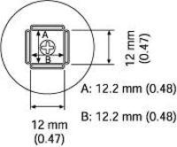 QFP Nozzle  12 2 x 12 2 mm A1262B