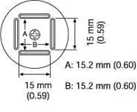 QFP Nozzle  15 2 x 15 2 mm A1126B