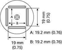 QFP Nozzle  19 2 x 19 2 mm A1127B