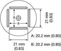 QFP Nozzle  20 2 x 20 2 mm A1261B