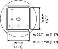 QFP Nozzle  28 2 x 28 2 mm A1129B
