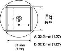 QFP Nozzle  32 2 x 32 2 mm A1265B