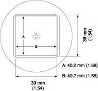 QFP Nozzle  40 4 x 40 4 mm A1264B