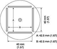 QFP Nozzle  42 5 x 42 5 mm A1215B