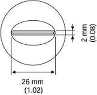 SIP Nozzle  25 5 x 1 mm A1191