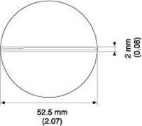 SIP Nozzle  52 x 1 mm A1192
