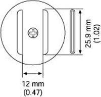 SOJ Nozzle  27 x 12 mm A1214B