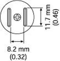 SOP Nozzle  11 7 x 8 mm A1258B