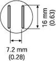 SOP Nozzle  16 x 7 2 mm A1133