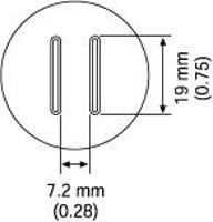 SOP Nozzle  19 x 7 2 mm A1134