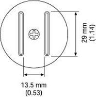 SOP Nozzle  29 x 13 5 mm A1259B