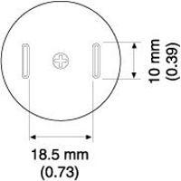 TSOL Nozzle  8 x 18 5 mm A1187B