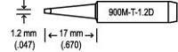 Soldering Tip  1 2D T18 D12
