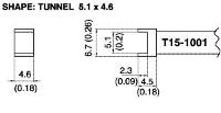 Tunnel Soldering Tip T15 1001