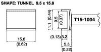 Tunnel Soldering Tip T15 1004