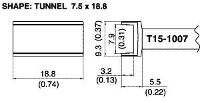 Tunnel Soldering Tip T15 1007
