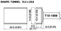 Tunnel Soldering Tip T15 1009