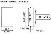 Tunnel Soldering Tip T15 1010
