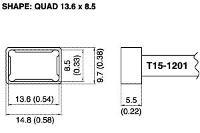 Quad Soldering Tip T15 1201