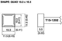 Quad Soldering Tip T15 1202