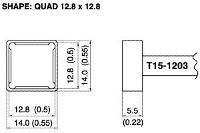 Quad Soldering Tip T15 1203