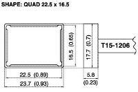 Quad Soldering Tip T15 1206