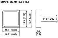 Quad Soldering Tip T15 1207