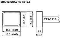 Quad Soldering Tip T15 1210