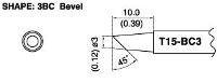 Bevel Soldering Tip T15 BC3