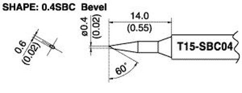 Hakko T15-SBC04