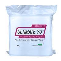 Polyester Cleanroom Wipes 12x12  150 Bag ULT70 1212