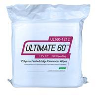 Polyester Cleanroom Wipes 12x12  150 Bag ULT60 1212