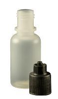 0 5 oz  Bottle LDPE Cylinder w  Cap JG0 5BC