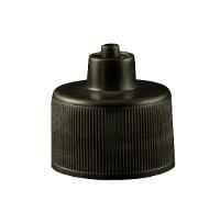 8 oz  Black Luer Lock Bottle Cap JGC 24410