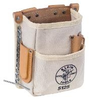 5 Pocket Tool Pouch Canvas 5125