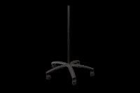 Floor Stand w Casters   Glides  Black 50036BK