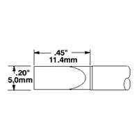 Cartridge  Large  Chisel  5 0mm   20  STTC 065