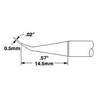 Cartridge  Conical Sharp Bent   02   30 STTC 044