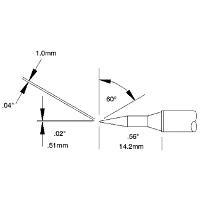 Cartridge  Bevel  Long Reach   04   60 STTC 146