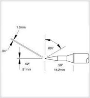 Cartridge  Long  Bevel   04   60 STTC 546