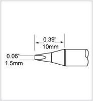 Chisel Cartridge  1 5mm  0 059    30 SCP CH15