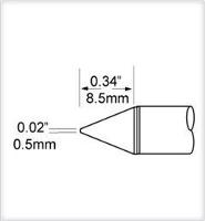 Conical Tip  0 5mm  0 02  SCV CN05