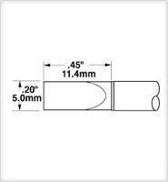 Cartridge  Large  Chisel  5 0mm   20  STTC 865