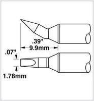 Cartridge  Chisel  Bent   07   30 STTC 898