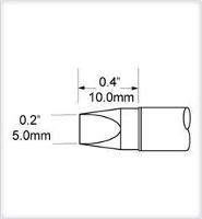 Chisel Tip  Extra Large  5mm  0 197  STV CH50